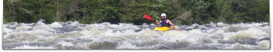 Learn Whitewater Kayaking