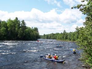 overnight-raft-kayak-trip