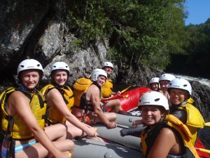 maine whitewater rafting trips