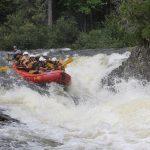 Canada Falls Rafting in Maine