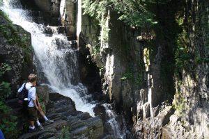 maine waterfall hike