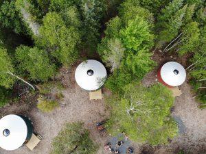 northeast whitewater yurt