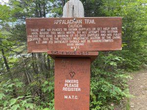 Trail in Monson Maine