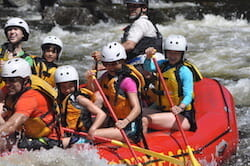Family Whitewater Rafting on the Kennebec River in Maine