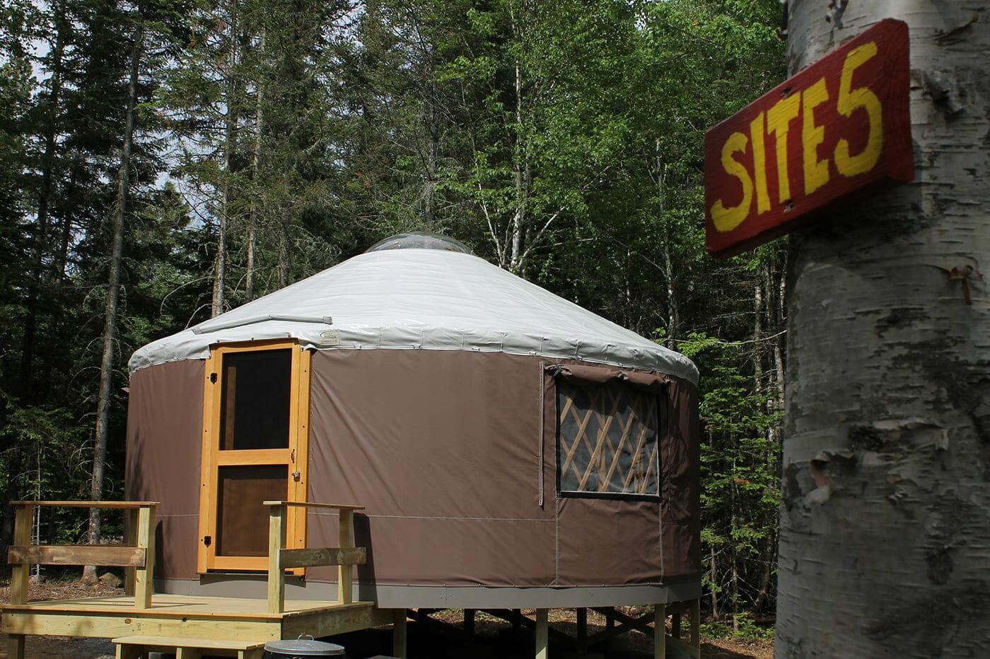 Moosehead Lake Yurts Yurts Maine Yurt Camping Maine