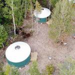 Maine Yurt Camping