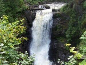 Moxie Falls Waterfall