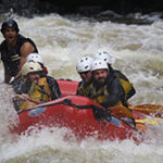 People White Water Rafting on the Penobscot River