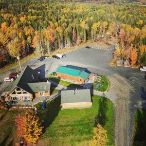 Ariel View of Our Lodge